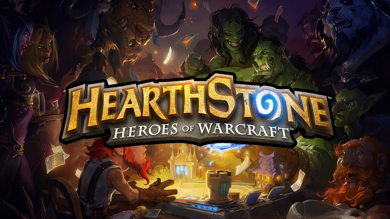 free download hearthstone heroes of warcraft game for pc desktop