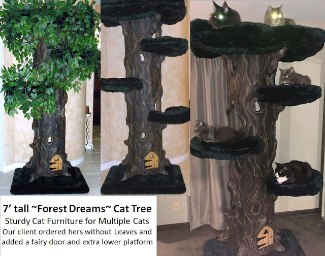 Sturdy Cat Trees for Multiple Cats
