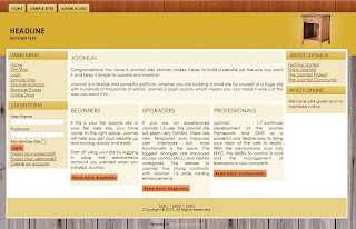 joomla 1.7 business templates