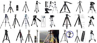 Daftar Harga Tripod Kamera Lengkap