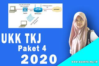 Soal UKK Teknik Komputer dan Jaringan Paket 4 K13 Terbaru 2020