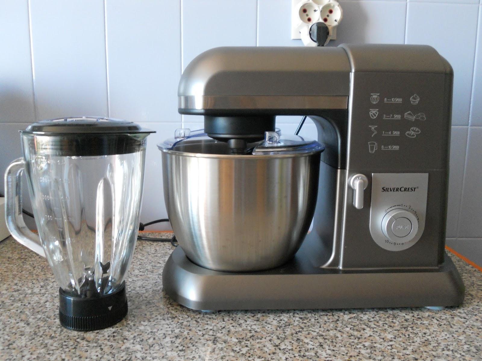 New in robot de cozinha silvercrest for Robot cocina lidl silvercrest