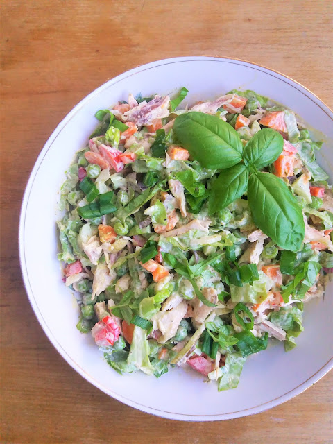 Sałatka z kurczakiem / Harvest Chicken Salad