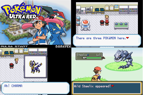 Pokemon Ultra Red Infinity GBA ROM Hack Download