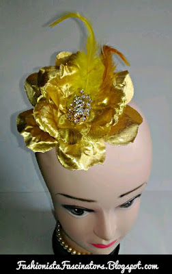 Gold fascinators in Kenya