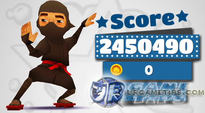 highest score in subway surfers