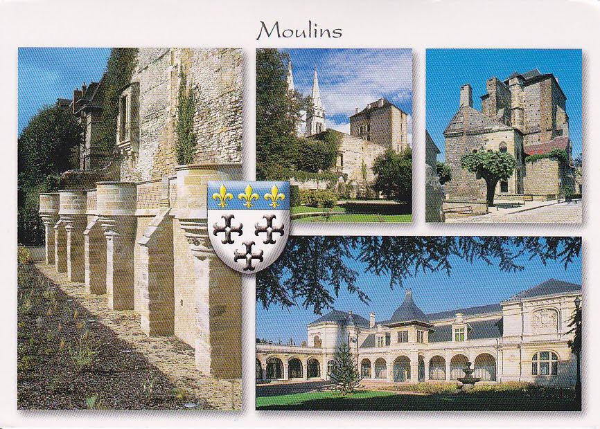 Postcard A La Carte 2  France - Auvergne-rh U00f4ne-alpes