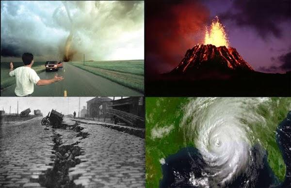 ADVERTENCIA: el cambio climatico esta alterando el planeta.