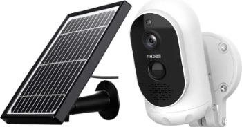 Escam buitencamera op zonne-energie