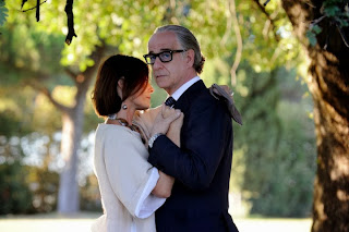 Toni Servillo as Jep Gambardella in The Great Beauty, on a romantic date with a beautiful girl, Directed by Paolo Sorrentino