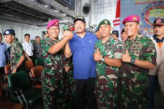 Ucapan Tulus Walikota Bima: Terimakasih TNI, Polri,  NGO dan Relawan