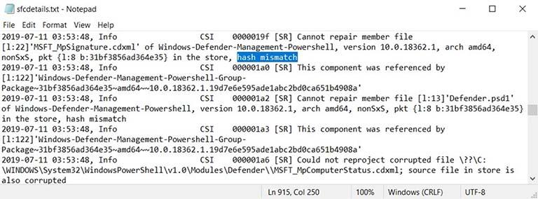 Windows 10 SFC /scannow Tidak Bisa Memperbaiki File Setelah Pembaruan