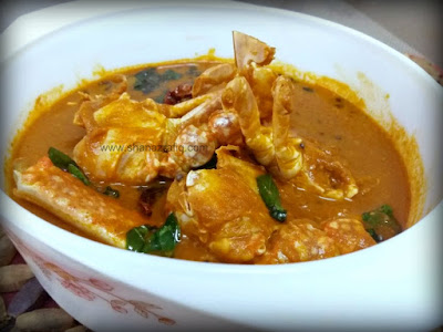 South Indian Style Crab Curry