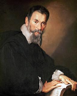 Claudio Monteverdi (1567-1643), por Bernardo Strozzi (1581–1644), circa 1630.