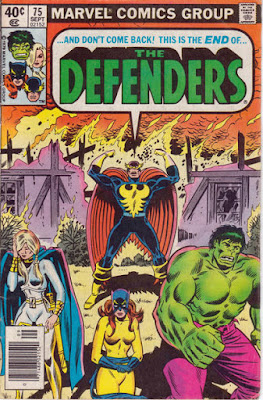 Defenders #75, the end!