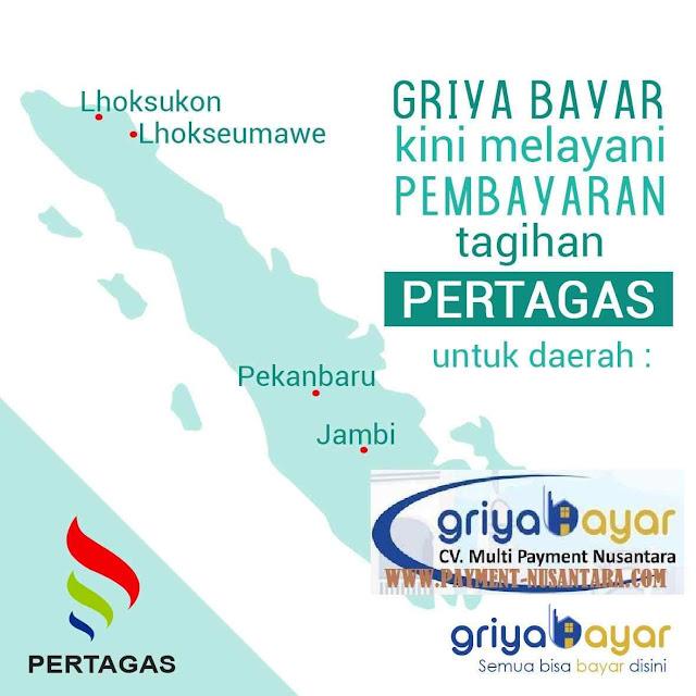 pembayaran pertagas untuk wilayah Lhoksukon. Lhokseumawe, Pakanbaru dan Jambi.