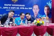KNPI NTB Gelar Rapat Koordinasi  Se-NTB, Buktikan KNPI Eksis