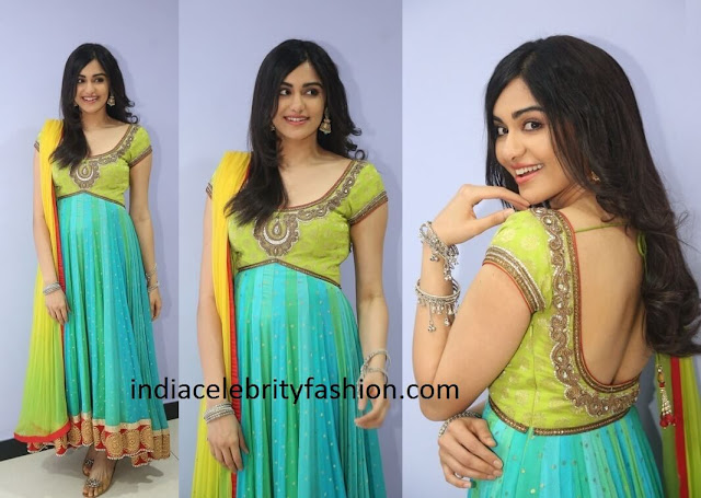 Adah Sharma in Net Salwar Kameez