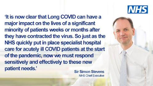 Long Covid clinics announcement 081020