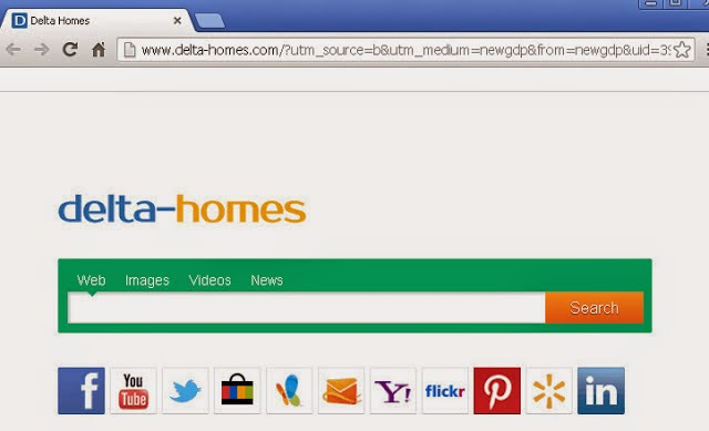 Come rimuovere Delta Homes da pagina home browser