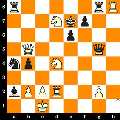 Les Blancs jouent et matent en 3 coups - John Nunn vs Ivan Nemet, Bienne, 1983