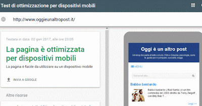 sito ottimizzato per i dispositivi mobili