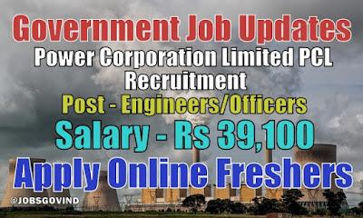PCL Recruitment 2021