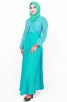 Alfacart Gamis Gaun Batik Hijab Clarissa Putri Ayu ANDHIMIND
