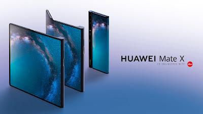 معلومات جديدة عن هاتف Huawei Mate X