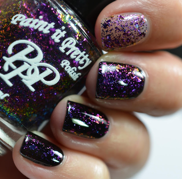 Paint It Pretty Polish Topped Off swatch