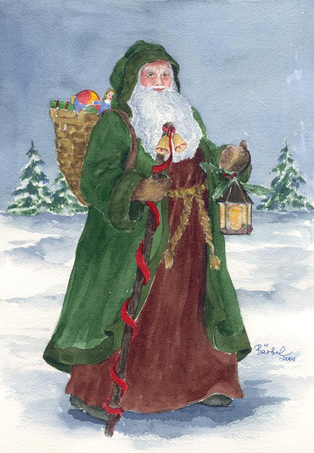 Old Fashioned Father Christmas