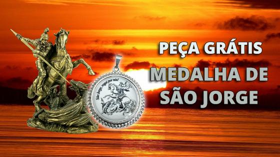 Grátis Medalha de São Jorge