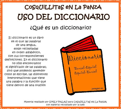 Ejercicios de práctica uso del diccionario