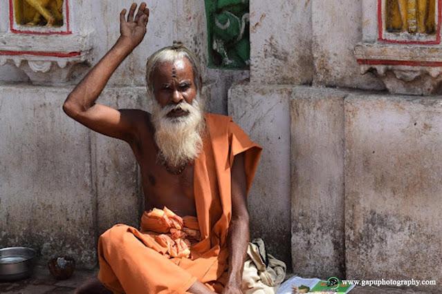 One Saint at Akhandalamani Temple