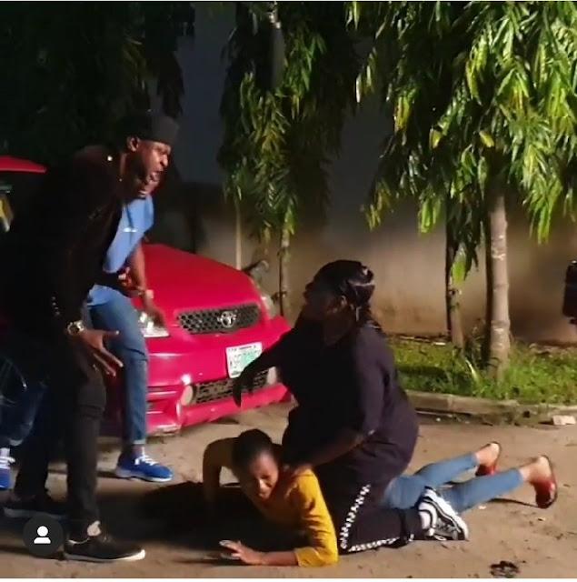 Teni beats Odunlade Adekola up - Video
