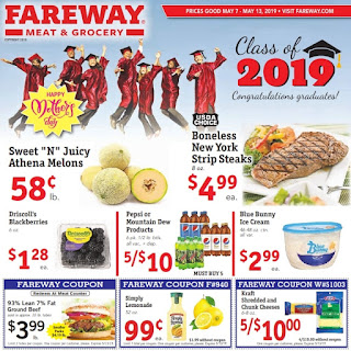 Fareway Weekly Sale Ad May 7 - May 13, 2019