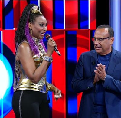 cantante Corona e Carlo Conti Top 10 29 maggio