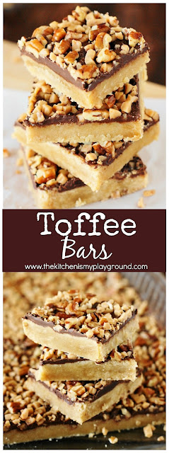How to Make Toffee Bars Image
