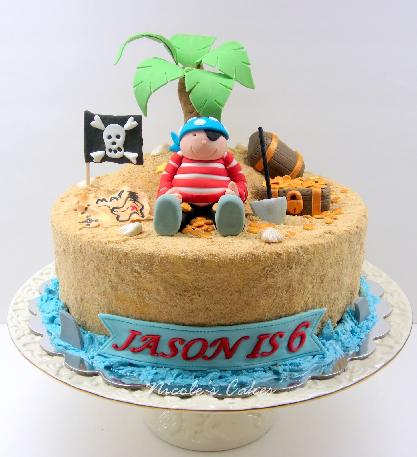 Confections, Cakes & Creations!: Pirate On A Treasure Island
