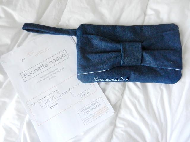 || Pochette noeud Elena, Petit Patron (Couture)