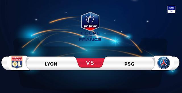 Lyon vs PSG Prediction & Match Preview