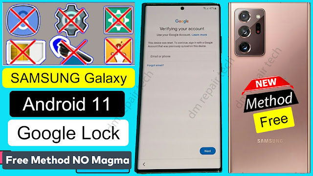 SAMSUNG Android 11 FRP Bypass 2021 NO Magma Tool  - frp bypass dm