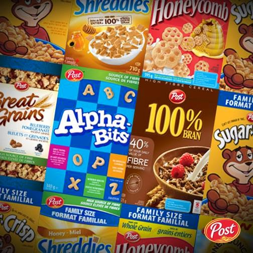 Canadian Daily Deals: Post Foods Flash Giveaway Win