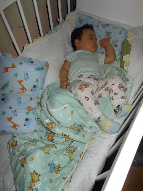 rotina na hora de dormir