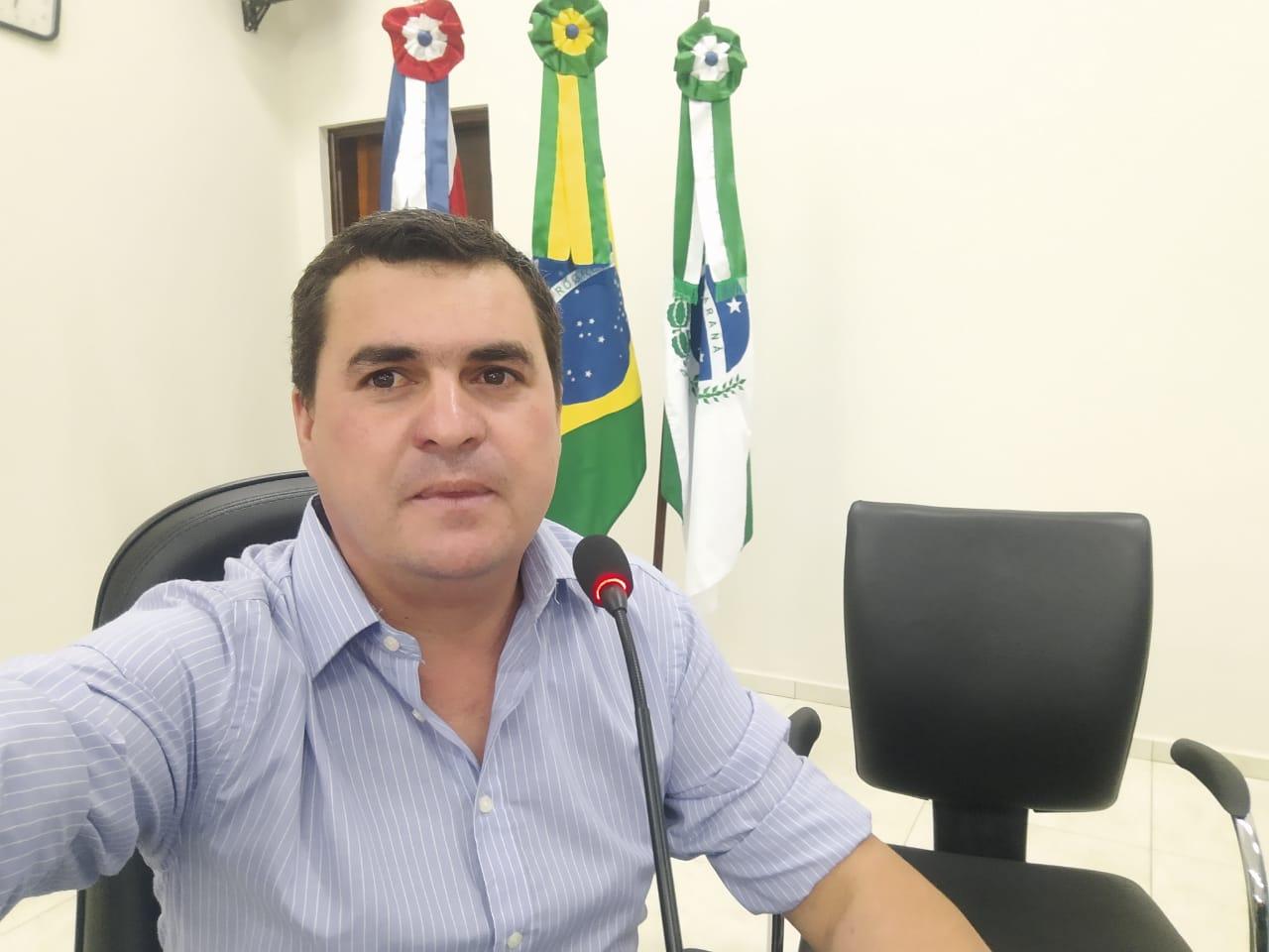 Vereador Rodrigo Faria, pré candidato à vice Prefeito de Flávio Zanrosso em Tomazina