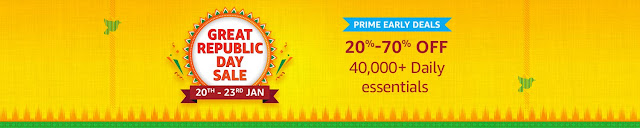 Amazon Great  Republic Day Sale Deal & Offer