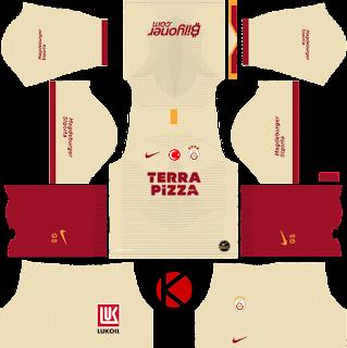 Galatasaray S.K. 2019/2020 Kit - Dream League Soccer Kits