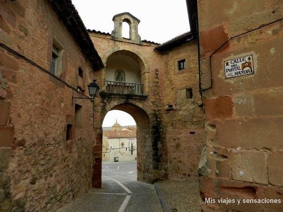 Portal Mayor de Sigüenza, Castilla la Mancha