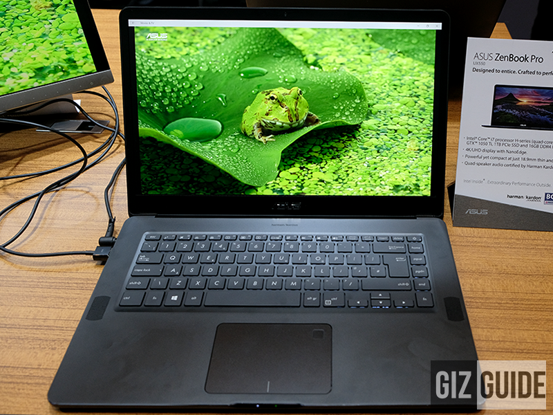 Beautiful and powerful ZenBook Pro