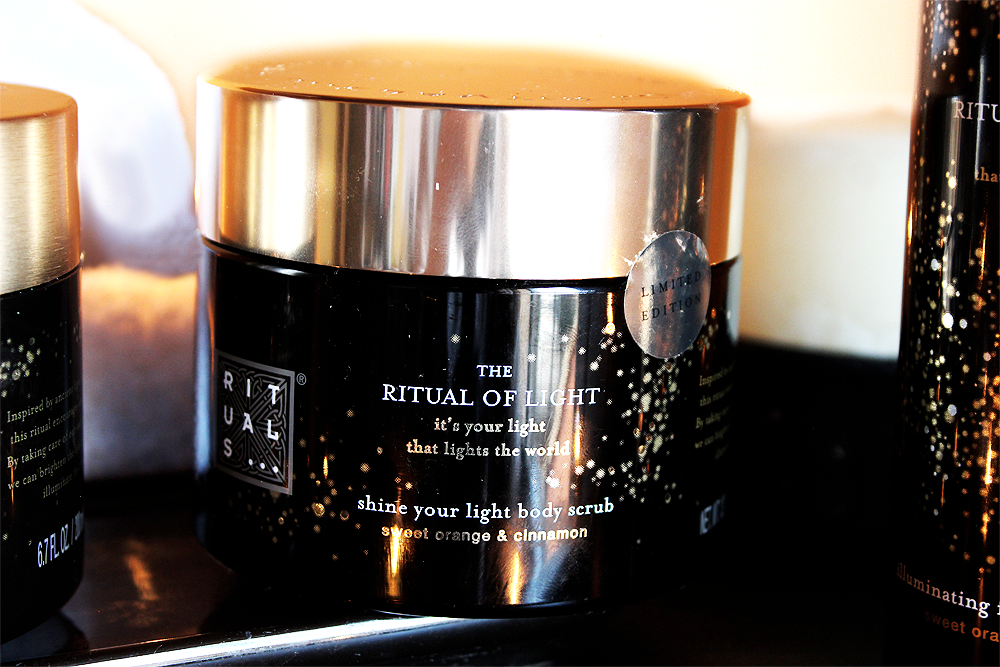 The Ritual of Light Shine Your Light Body Scrub review